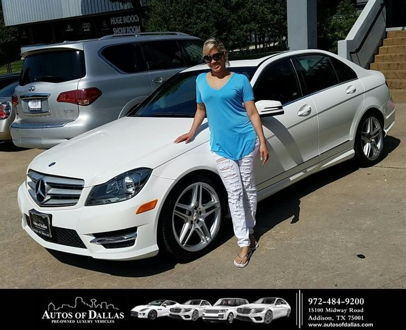 Happy Anniversary To Juana On Your Mercedes Benz C Class From George Ondarza At Autos Of Dallas Https Deliverymaxx Co Benz Car Dealership Customer Review