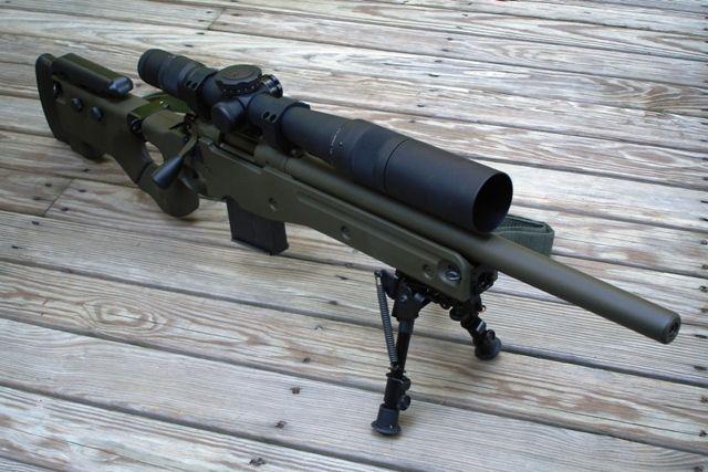 Remington 700 w/ AICS stock | Gunz | Guns, Weapons, Hunting rifles