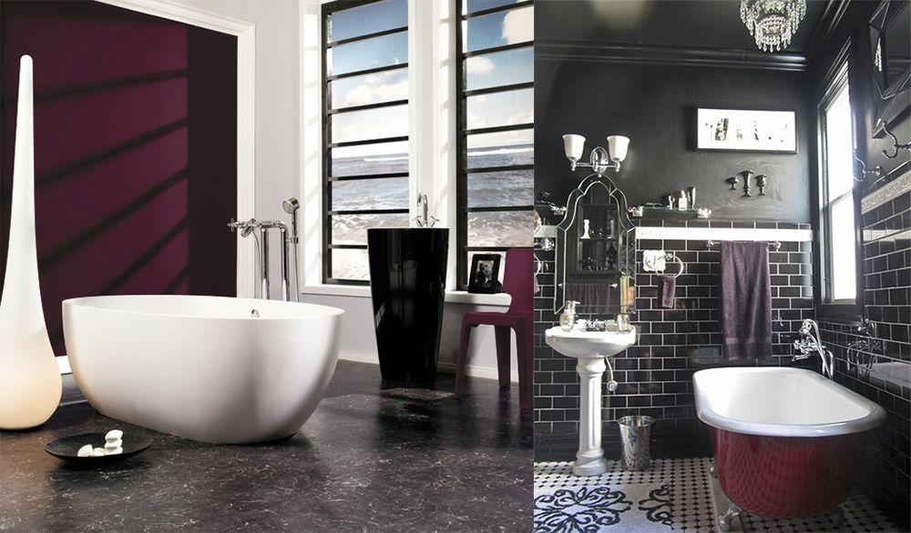 Trends Badezimmer ~ Berry shades bathroom trends 2018 bathroom pinterest bathroom