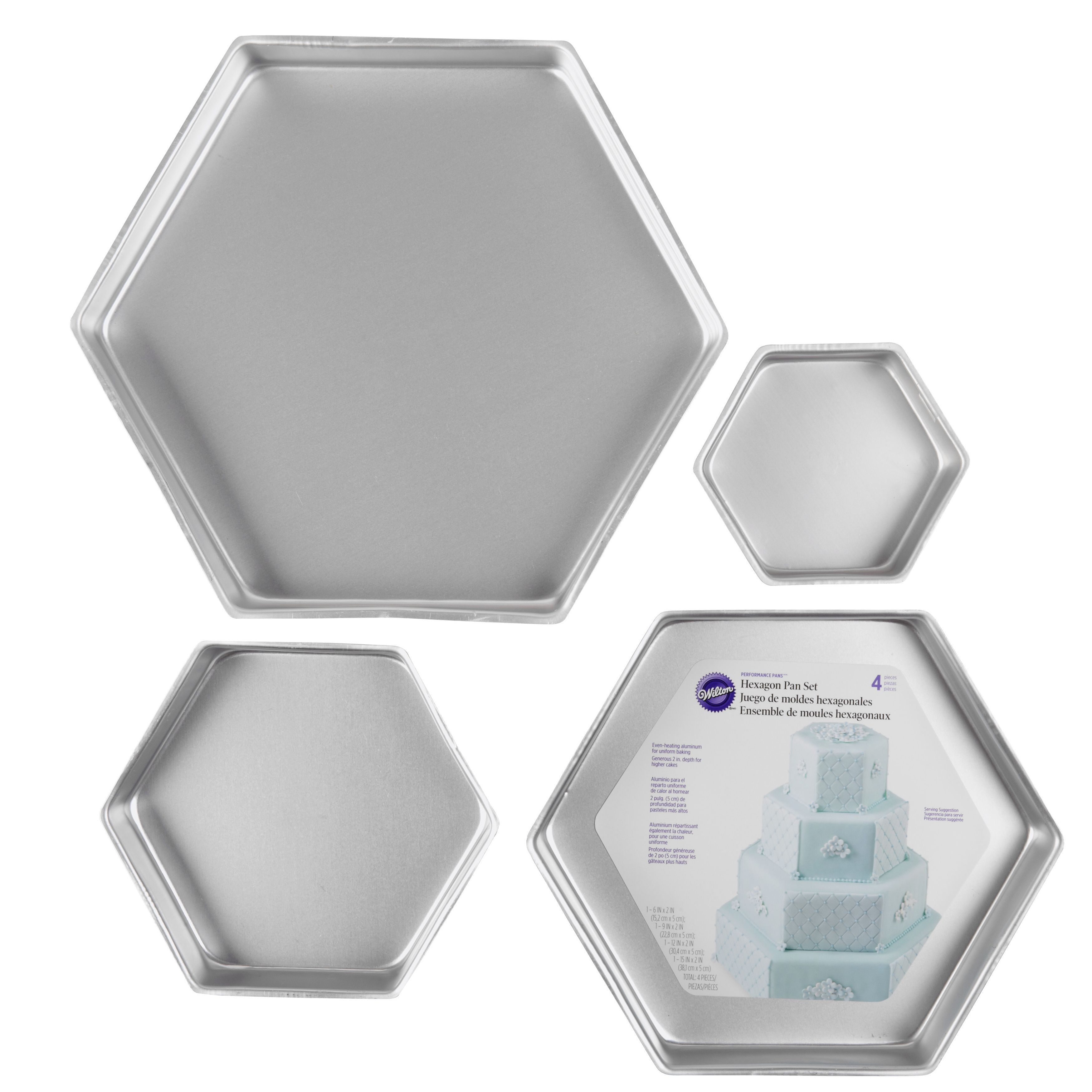 Performance Hexagon Cake Pans | Hexagons, Products and Cakes