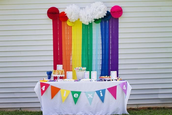 My Little Pony Rainbow Party Planning Ideas Supplies Idea