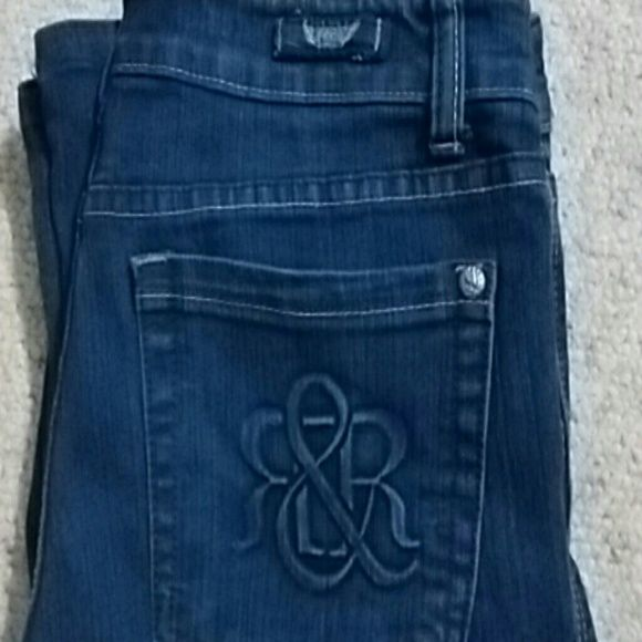 Rock & Republic jeans Dark wash rock jeans in perfect condition Rock & Republic Jeans Straight Leg