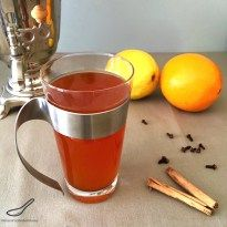 This 'Russian Tea Recipe' is the name of an American citrusspiced tea, which is popular around the holidays, as are most spiced drinks, but you don't need to wait for the holidays to have this tea. There are many variations of this recipe, most of them using a dried powdered mixture of instant tea, Tang...Read More