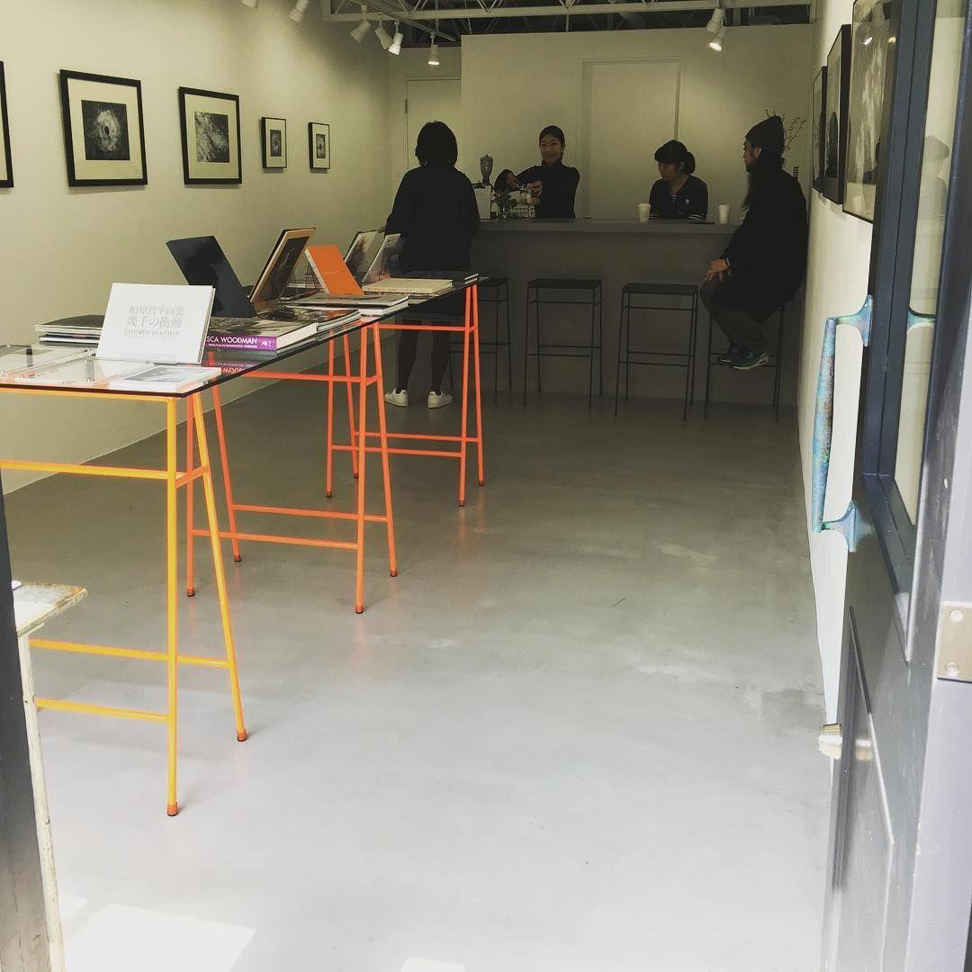 インスタで遭遇したギャラリーに行ってみたら そんな出会いで京都から来た人もいたんだって コーヒーうまかった。 #quiet_noise#gallery #池の上