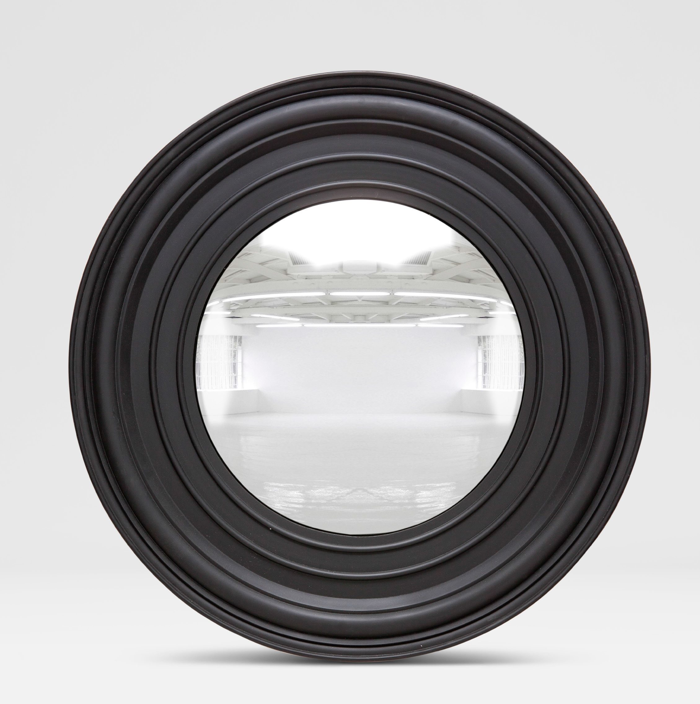 A Round Mirror In A Black Frame   Поиск в Google