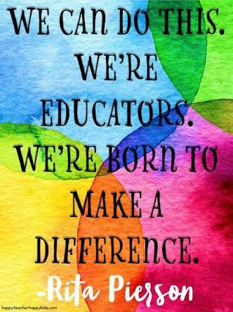 Rita Pierson teachers quote