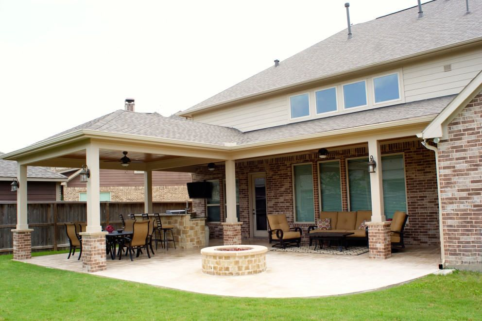 Perfect Patio Cover Katy Cinco Ranch West