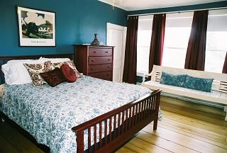 Teal Room with Brown Curtains... The teal is amazing... not my decorating style though...tufted headboard and white curtains