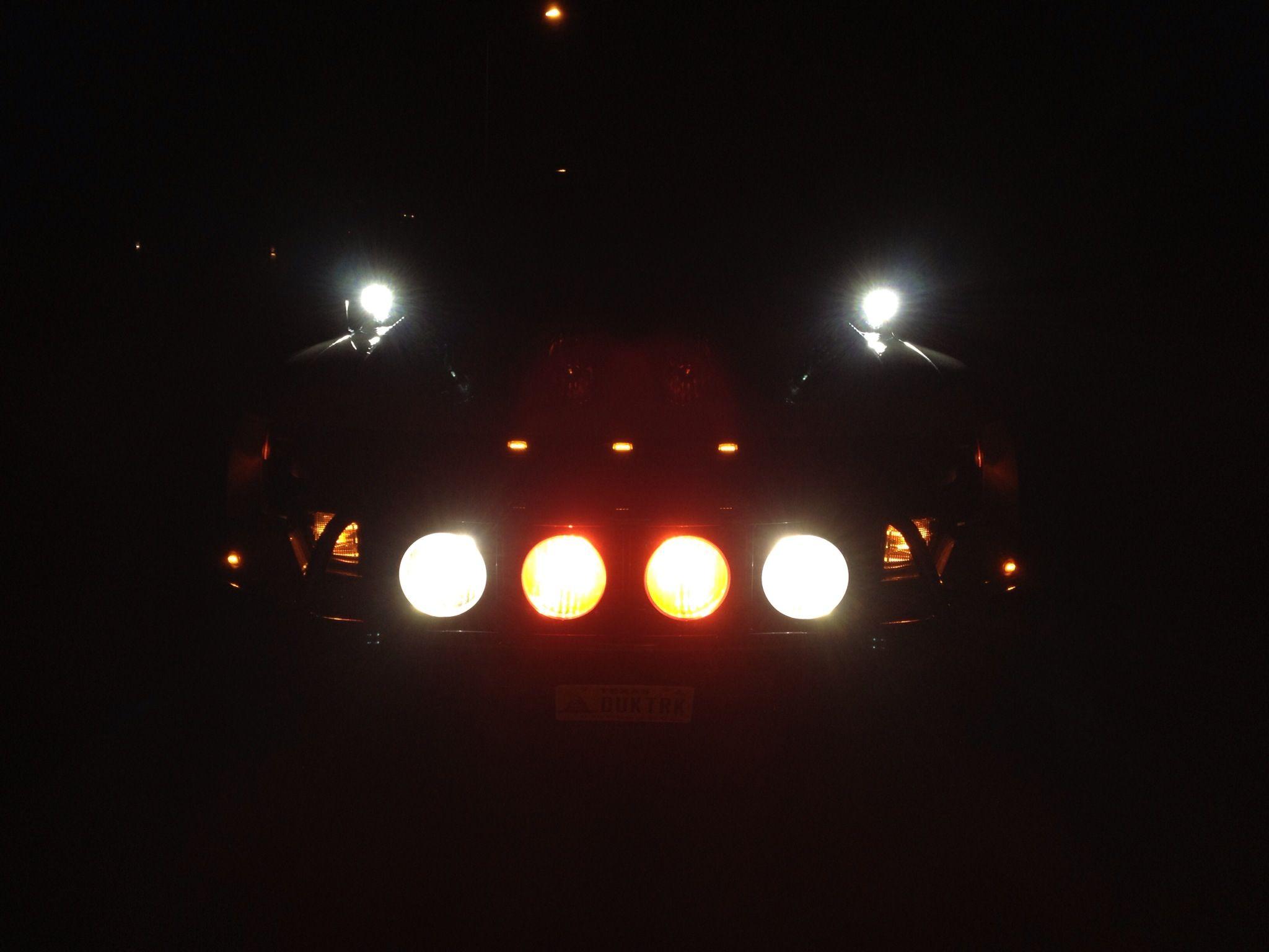 DUK hunting at night....