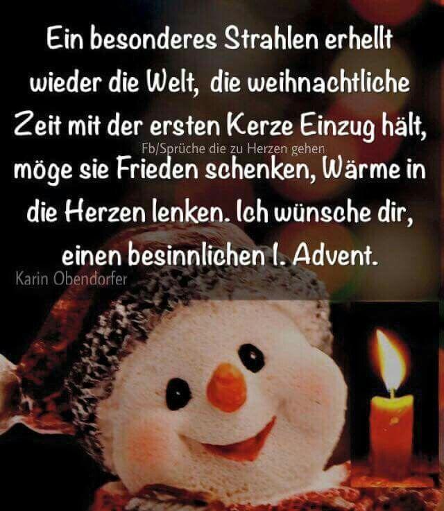 1 Advent Weihnachten Advent Weihnachten Advent Spruche Weihnachten Spruch Advents Grusse