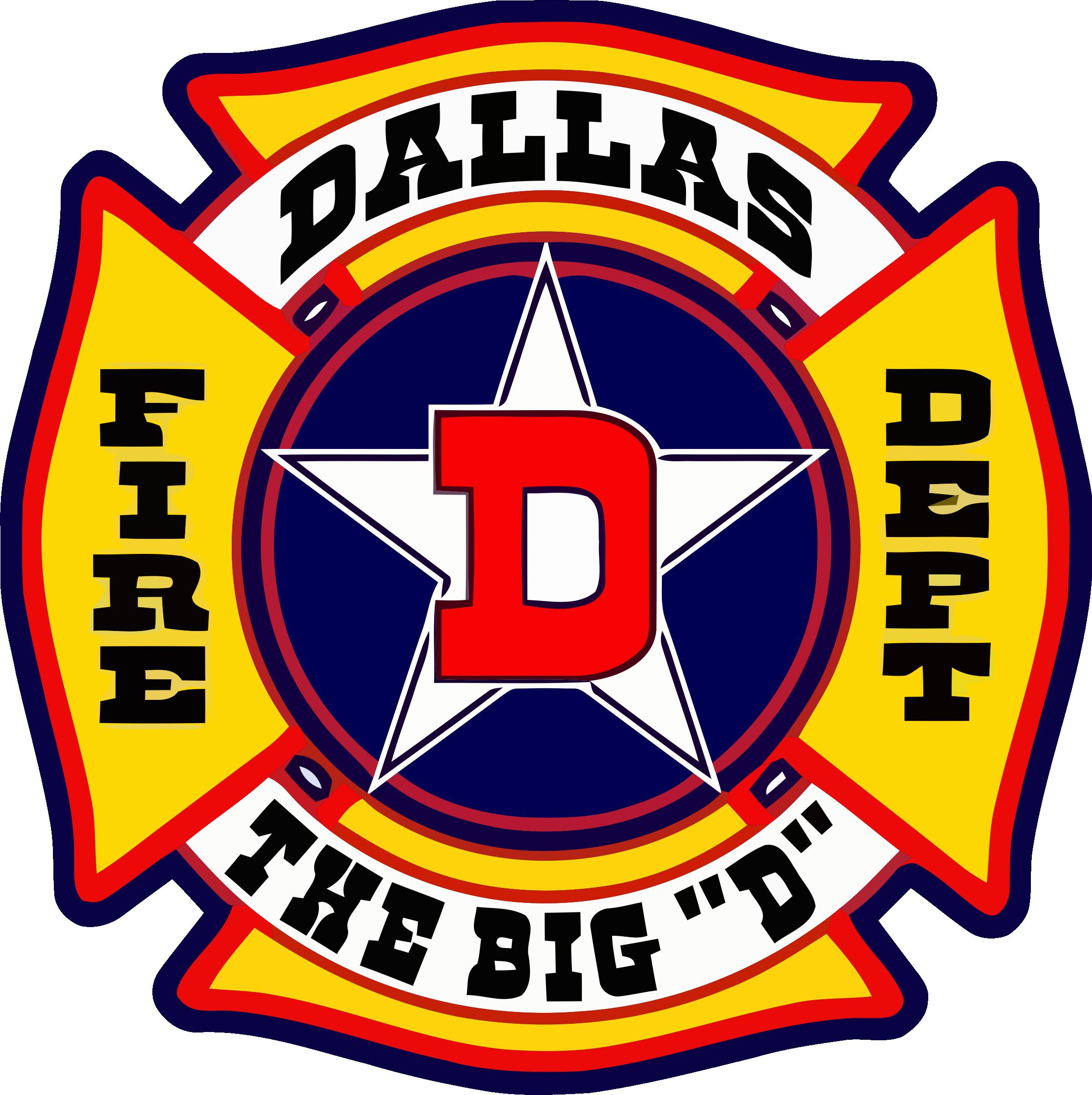 Dallas Texas Fire Dept. Sticker By