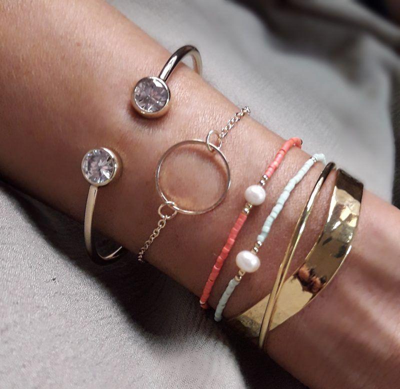 bracelet femme pointe