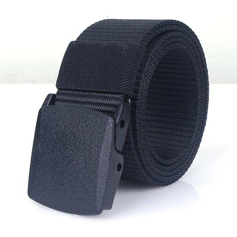 Adjustable Waist Tactical Outdoor Nylon Belt Army Automatic Buckle Cummerbunds
