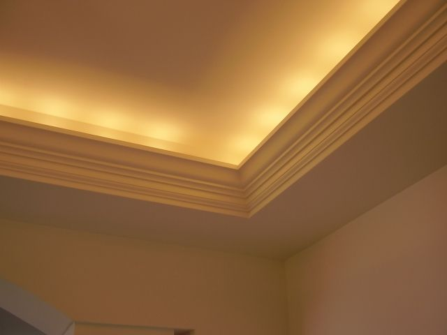 soffit cove lighting with crown molding Google Search