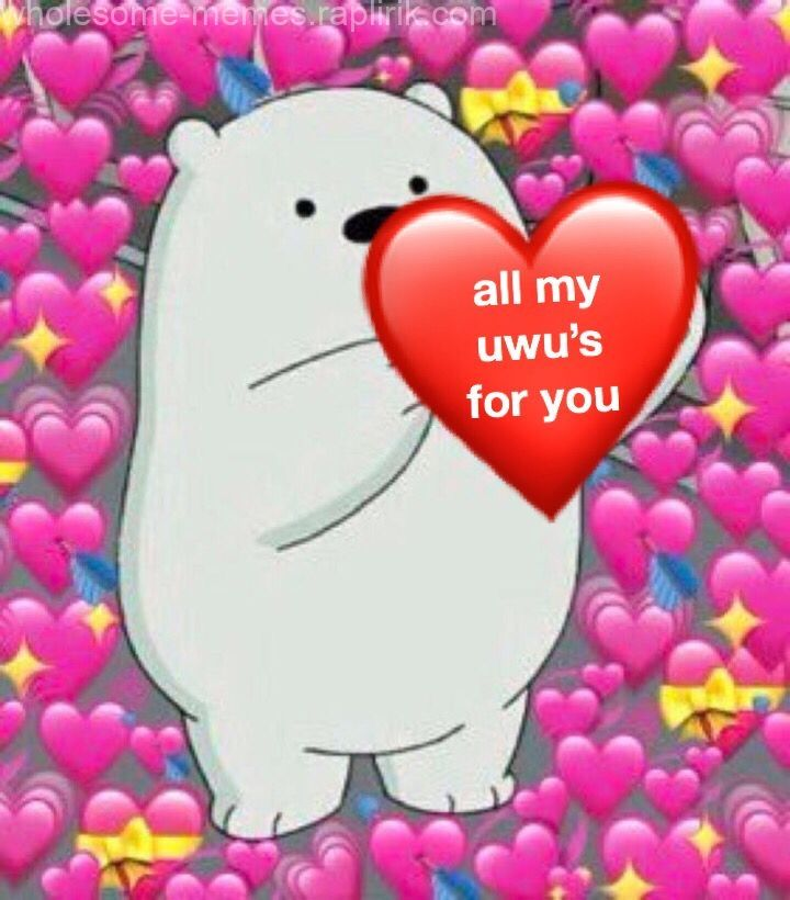 Heart Meme All My Uwu S For You The Post Heart Meme Appeared
