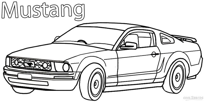 Printable Mustang Coloring Pages For Kids | Cool2bKids | Teacher ...