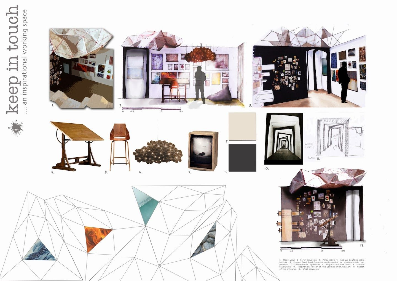 Good Presenting My Portfolio Done During My Studies Of Interior Design And  Decoration At RMIT, Starting