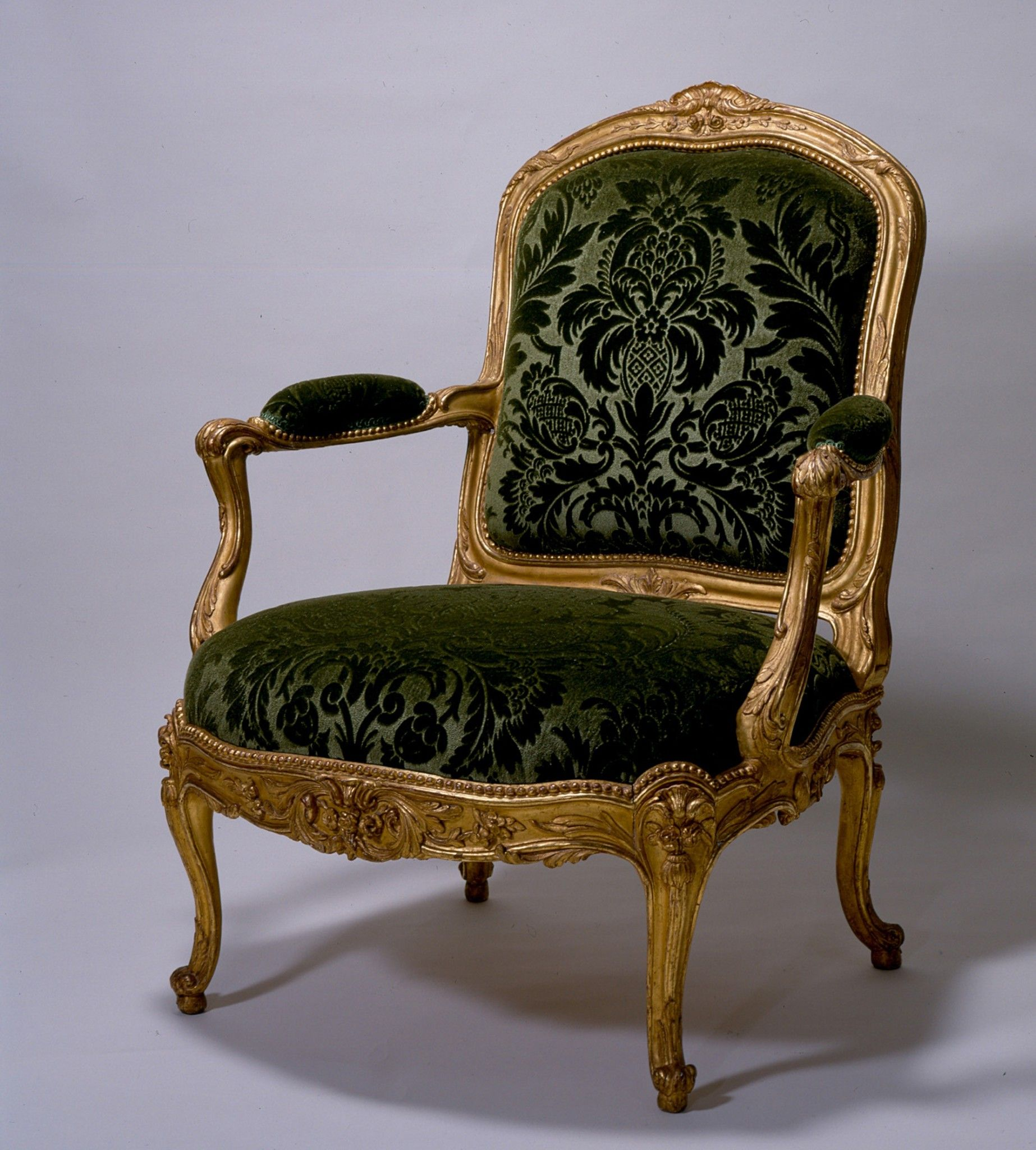 C1765 Louis Xv Armchair Attributed To Heurtaut Nicolas The Chair Is Part Of A Celebrated Suite Made For The Viennese Pa Armchair Georgian Furniture Furniture