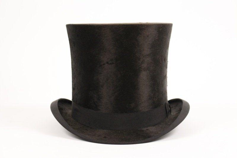 e55e299d9 1890s American Beaverskin Top Hat w/ Original Box in 2019   Late ...