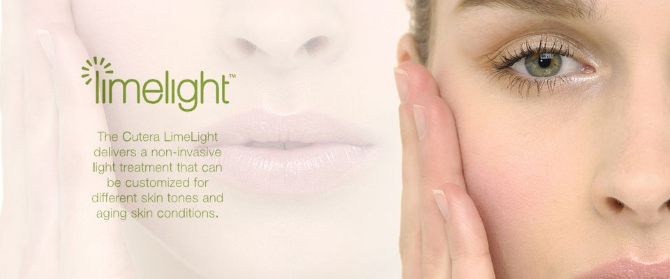 Limelight is a light based treatment that will remove brown spots or diffuse redness. It is a Cutera Laser. It is the gold standard treatment for sun damaged skin. #IPL #woodlandswellness