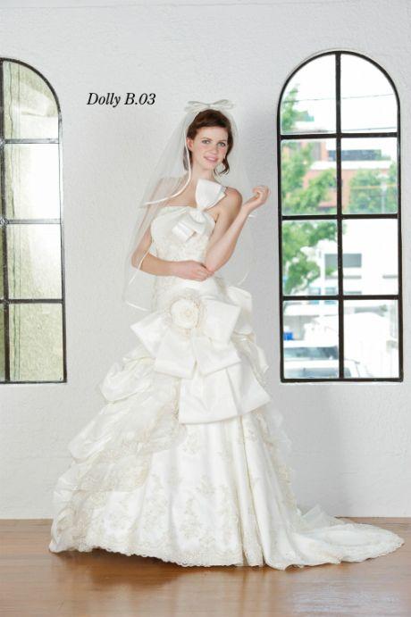 ウェディングドレス DollyB 03 ウェディングドレスのレンタルなら大阪ピノエローザへ