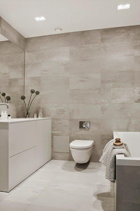 Jolie association de couleurs blanc lin brun en 2019 salle de bains salle d 39 eau - Salle de bain brun ...