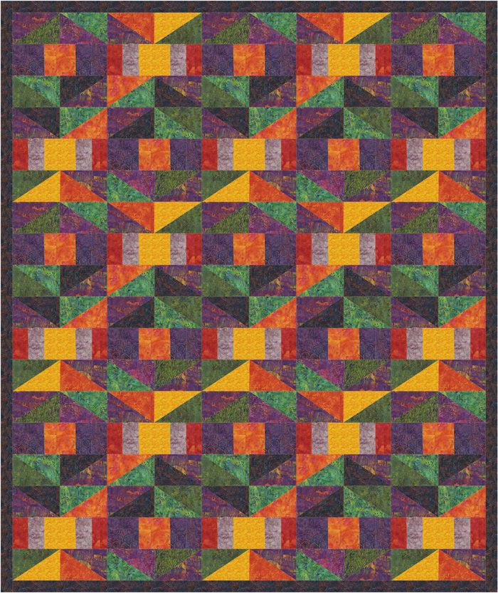 Bryce Canyon Trails Quilt Pattern PS 945
