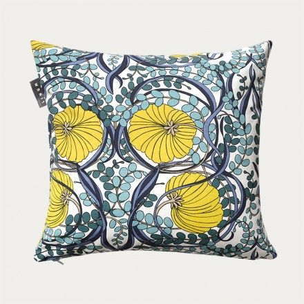 Nouveau Cushion Cover – Mustard Yellow | Collections ...