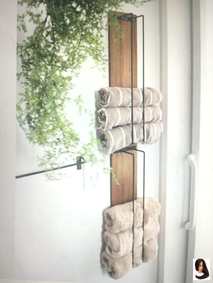 Bad Bathroom Decor wall Farmhouse Handtuchhalter