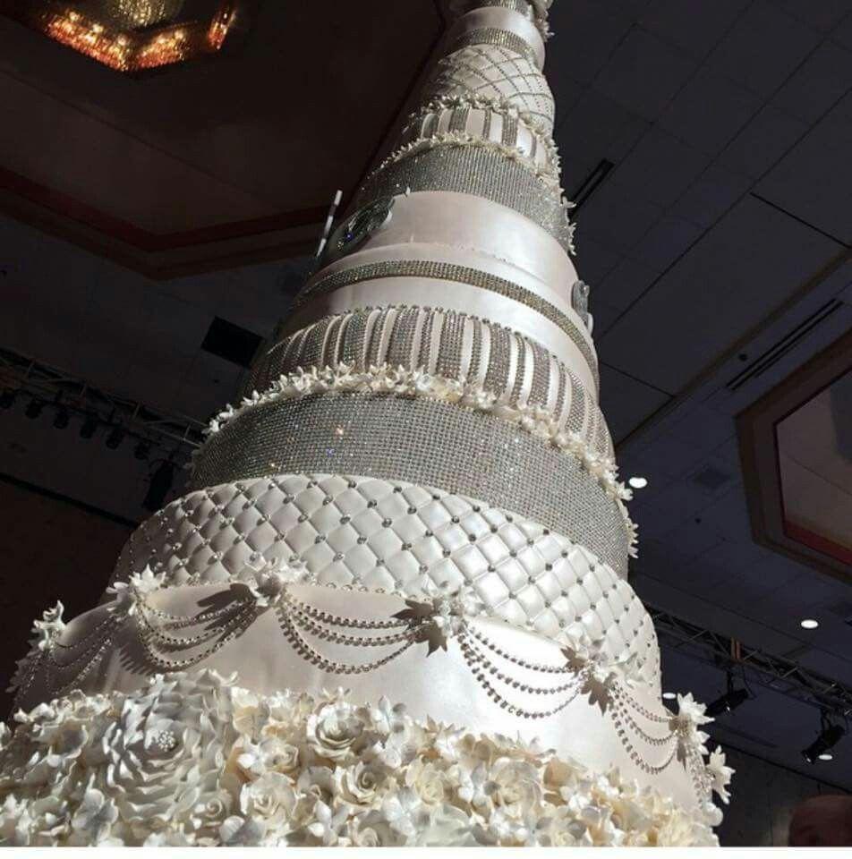 Wedding Cake Photos, Bling Wedding Cakes