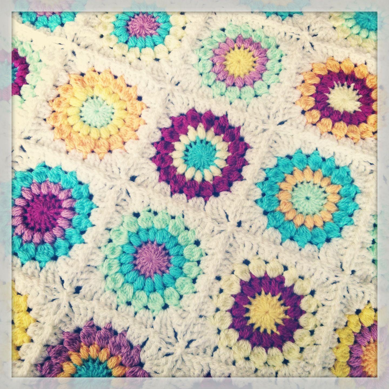 Sunburst Granny Square Pattern/Tutorial/Patroon | Crochet ideas ...