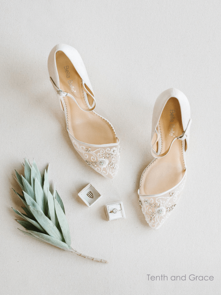 f82c6575d Ivory Beaded D'orsay Wedding Pumps in 2019 | wedding style ...