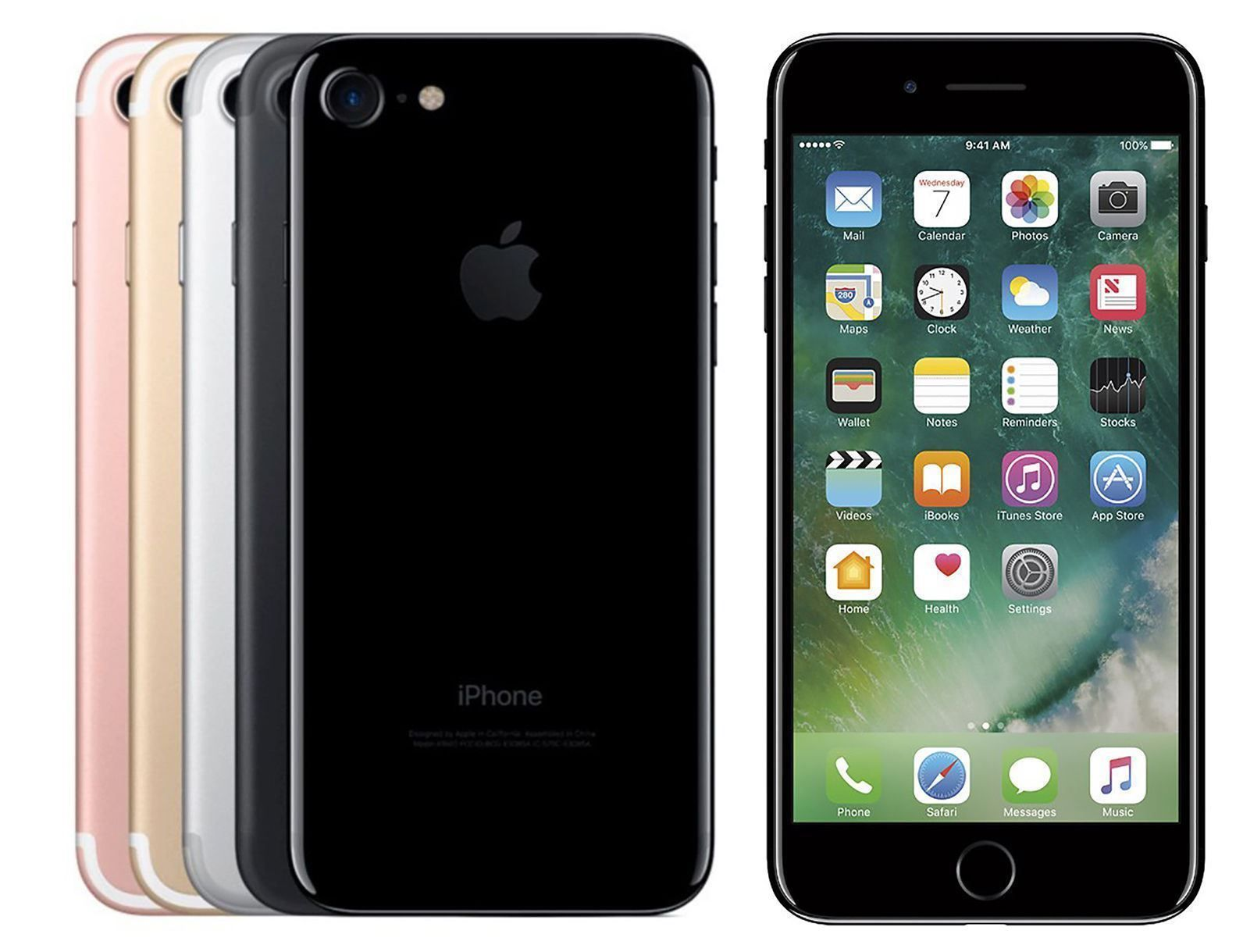 iphone apple ios Apple iPhone 7 32GB 128GB 256GB Factory UNLOCKED Smartphone WARRANTY 465 00 Item specifics Condition Seller refurbished An item