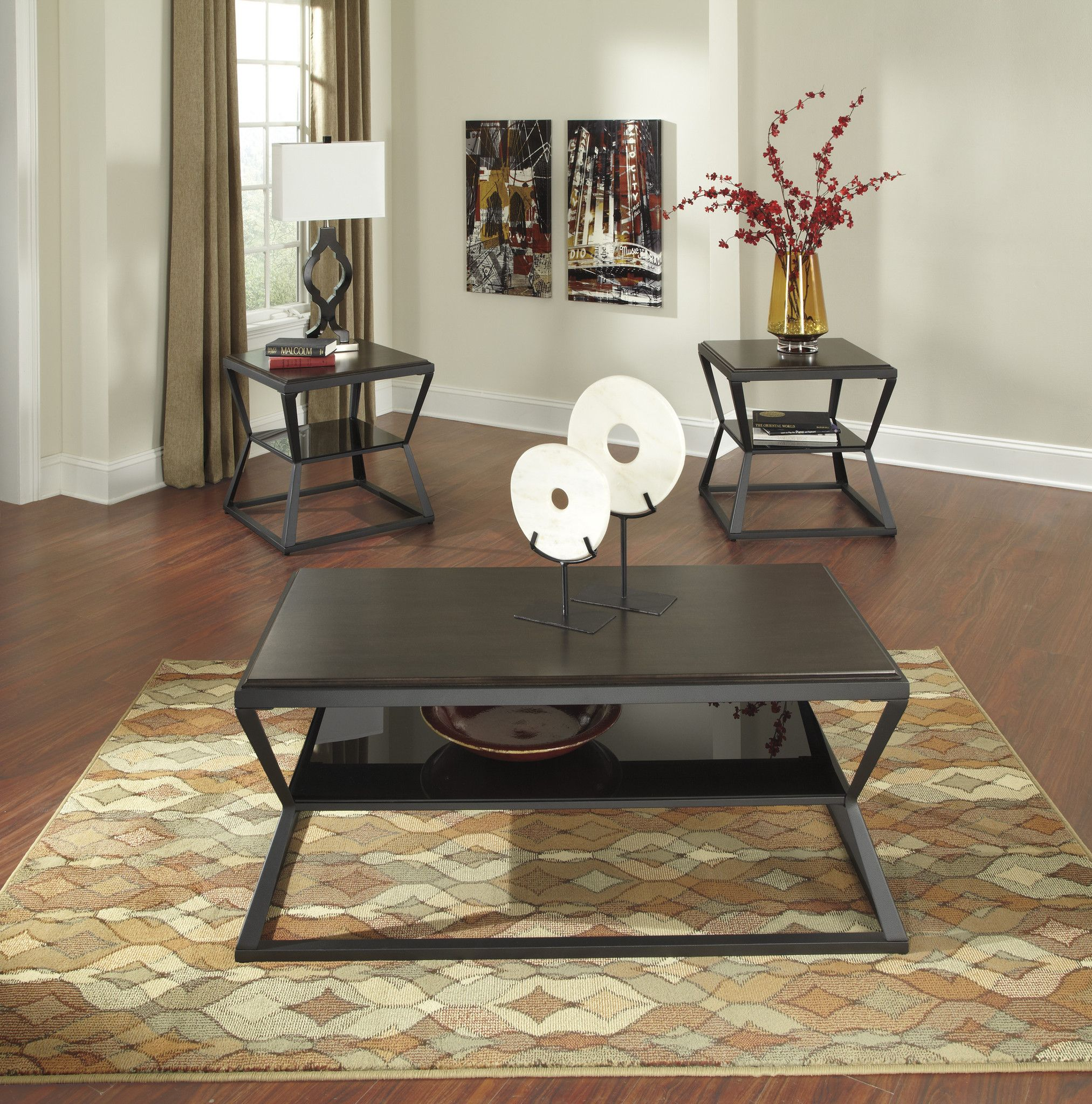 Soffiton Occasional Table Set Products Pinterest