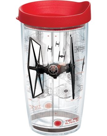 c34d49e7638 MouseSteps - New Tervis Tumblers Include. Star Wars™ The Force Awakens TIE  Fighter Schematic Wrap with Lid - 16oz tumbler