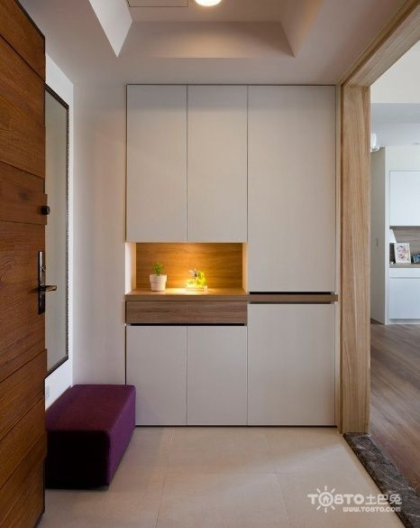 Beautiful Hall Cabinets Design