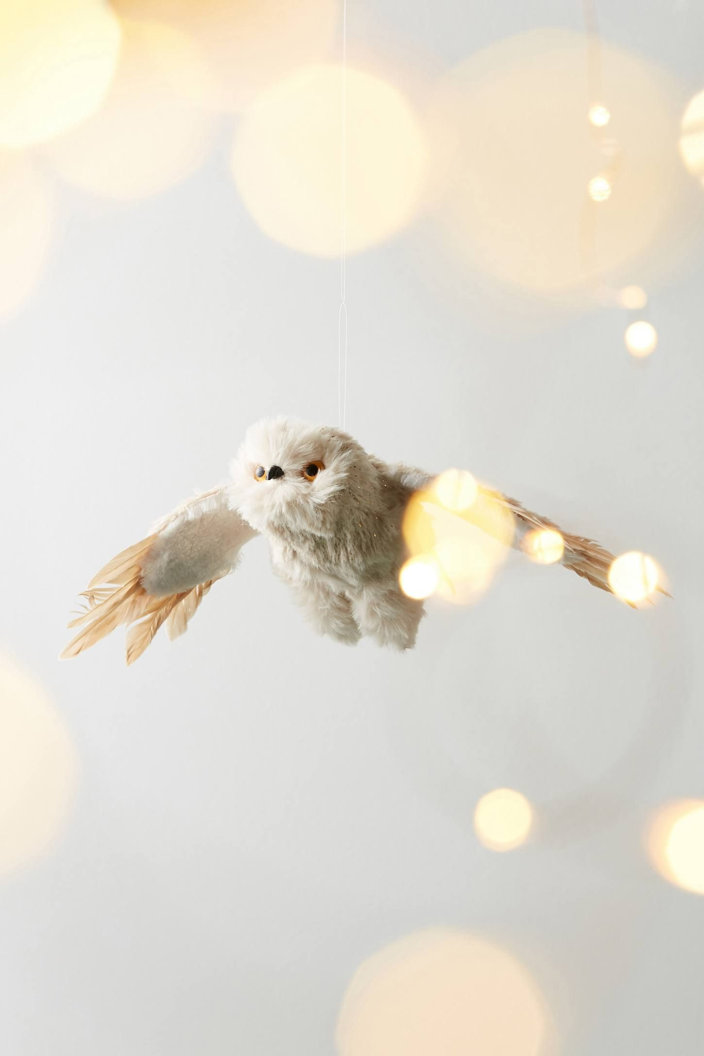 Plush Owl Ornament Christmas
