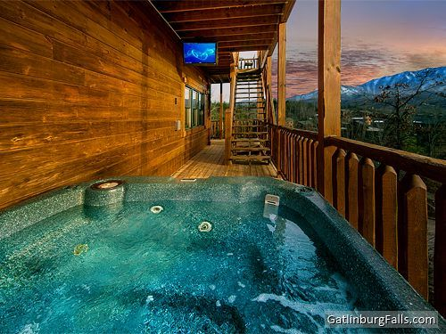 9 bedroom Gatlinburg Cabin  Mountaintop Mansion    view from one of the  decks   Large Cabins in Gatlinburg   Pinterest   Gatlinburg cabins  Gatlinburg  TN. 9 bedroom Gatlinburg Cabin  Mountaintop Mansion    view from one