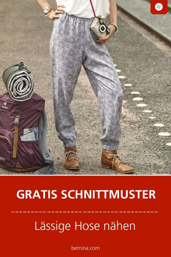 Photo of Freizeithose Schnittmuster Freebie