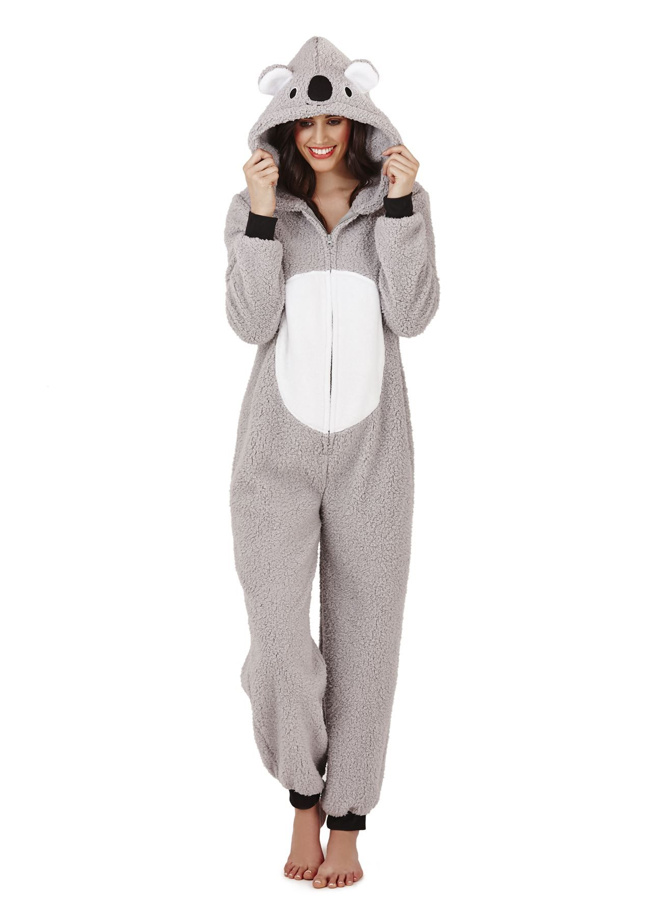 4be698162 Loungeable-Ladies-Adult-Animal-Onesie-Jumpsuit-Koala-Bear-Teddy ...