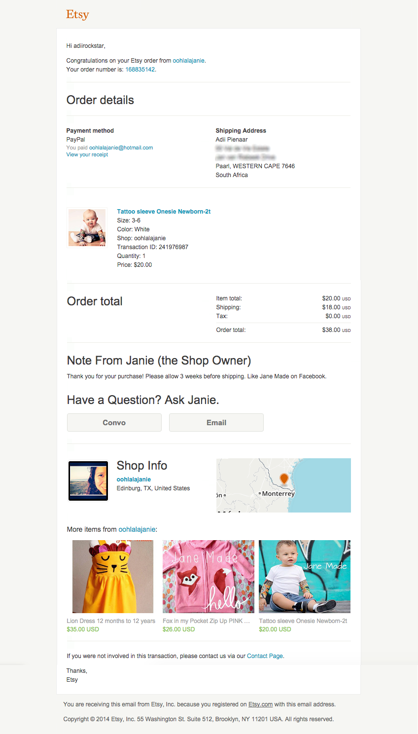 Purchase Confirmation Template 3 Latest Tips You Can Learn When Attending Purchase Confirmation Email Template Email Template Design Order Confirmation Email