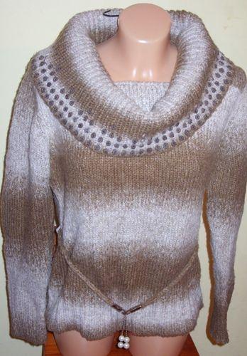 Cieply I Bardzo Ladny Sweter Damski Typu Golf Fashion Sweaters