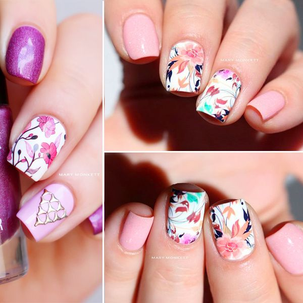 Elegant How To Do Flower Nail Art Home Design Pictures