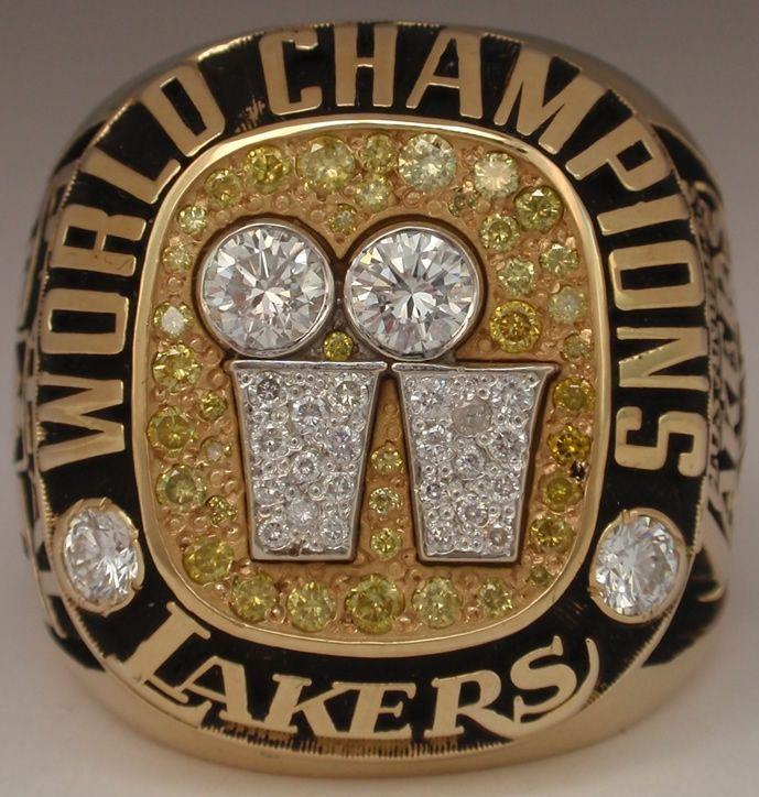 2001 Nba Championship Ring Lakers Nba Championship Rings Nba Championships Lakers Championships