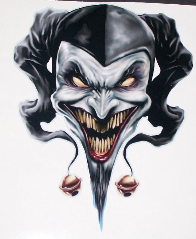 150c40f4518f0 Jester Tattoo Images & Designs | WN in 2019 | Jester tattoo, Clown ...