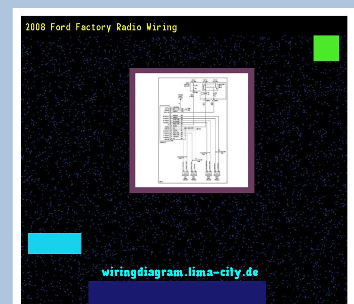 2008 Ford Factory Radio Wiring Diagram 174643 Amazing Rhpinterest: Ford Factory Radio Wiring At Gmaili.net