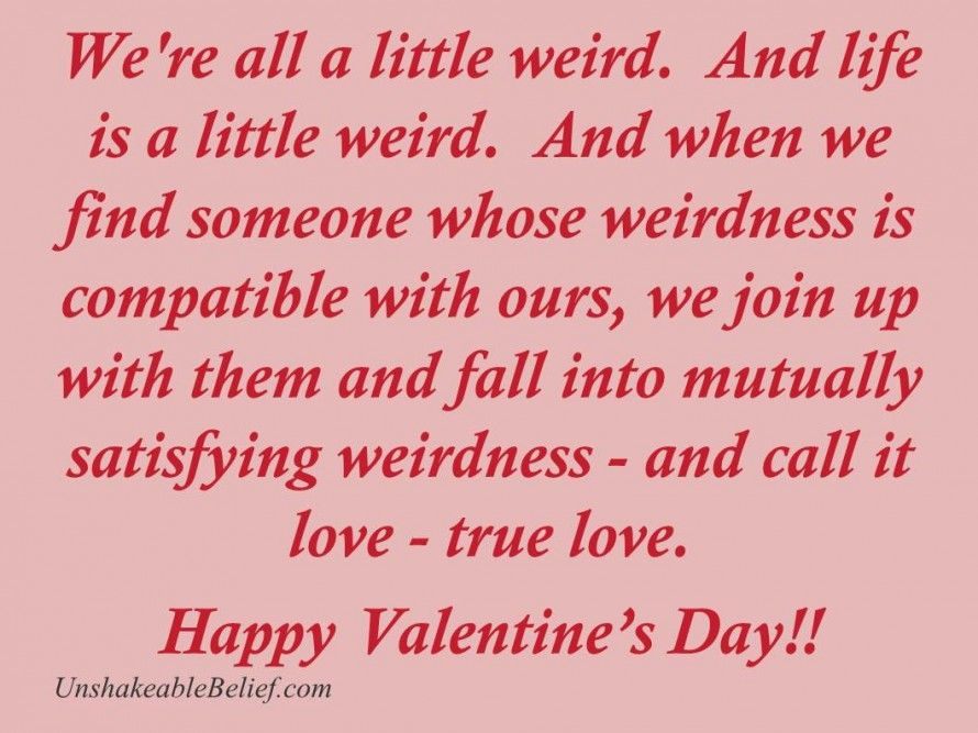 Humorous Valentine\'s Day Quotes | ... day-thread-greetings-wishes ...