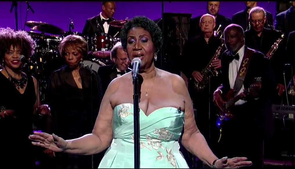 Aretha Franklin Sings Rolling In The Deep The Aretha Version