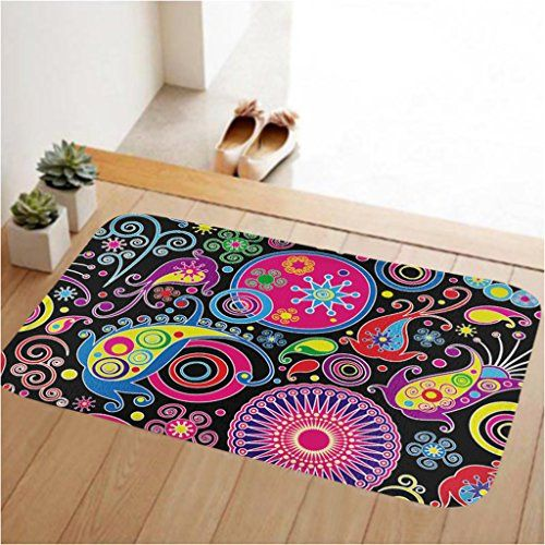 Inspirational Low Pile Entry Rug