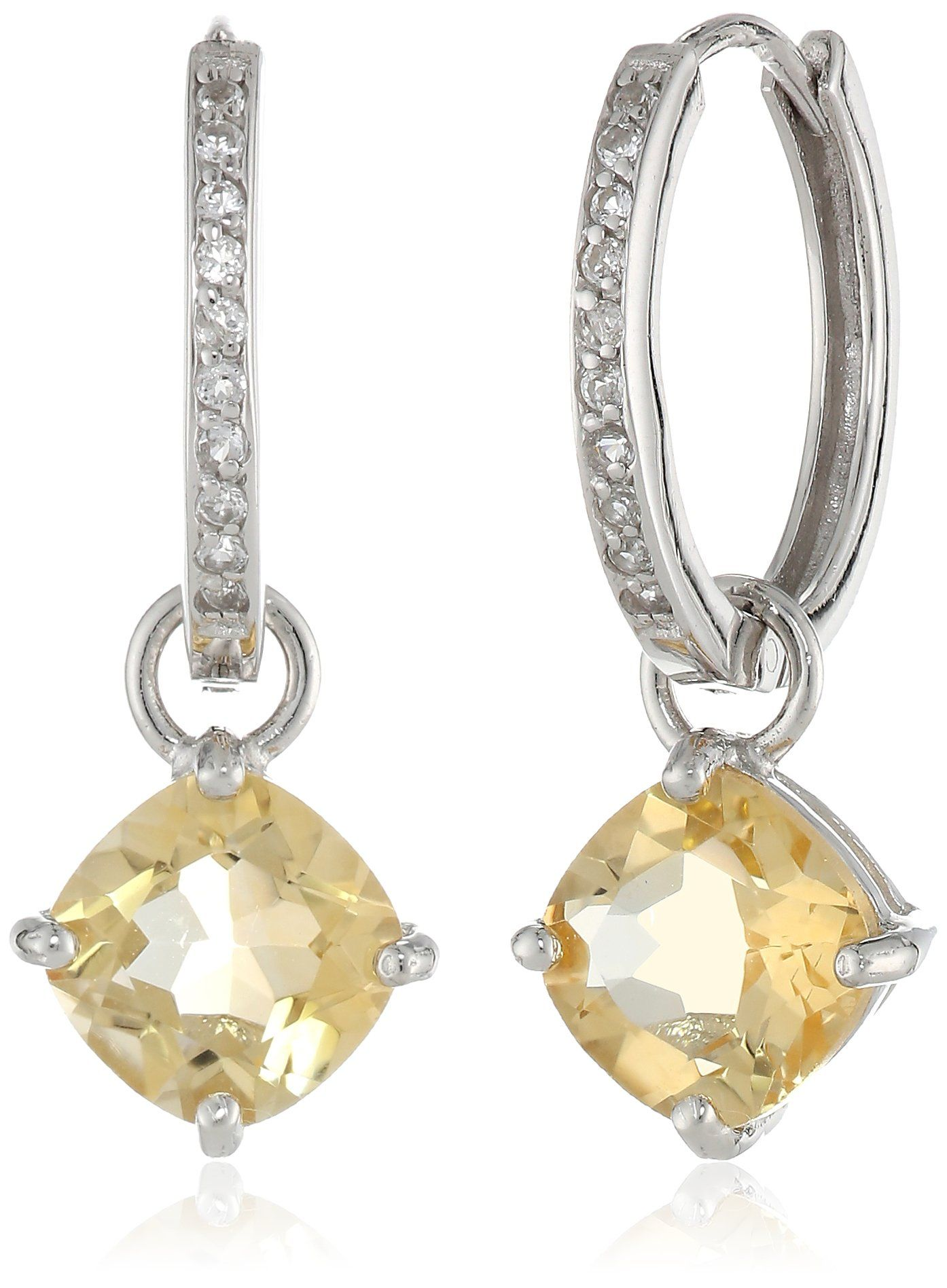 $39 41 at Amazon Sterling Silver Citrine Earrings with thanks